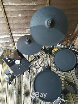 ALESIS FORGE Electronic KIT Eight-Piece Drum Kit + Headphones + Sticks