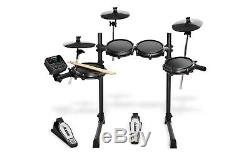 ALESIS TURBO MESH DRUM KIT Electronic Digital USB MIDI 7 Piece Kit Bundle Set