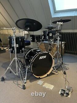 ATV aDrums Artist Standard Electronic Drum Kit + 2 upgraded mesh heads