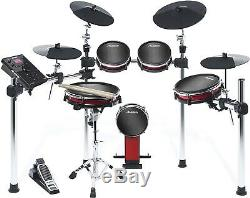 Alesis Crimson 2 Mesh Electronic Drum Kit, Rarely Used With Extras
