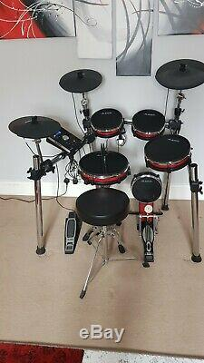 Alesis Crimson Mesh Kit Five-Piece Electronic Drum Kit withMESH HEADS