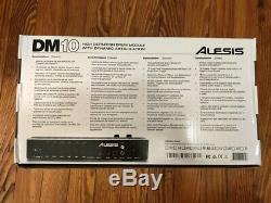 Alesis DM10 Drum Module NEW withSnake Cable & Mount Electronic Kit Harness Brain