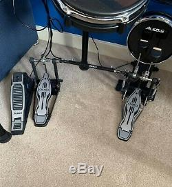 Alesis DM10 Electronic Drum Kit With Stool, Double Bass Pedal & Amp
