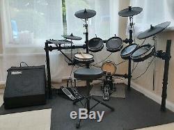 Alesis DM10 Electronic Drumkit With SubZero DR60 Drum Amp
