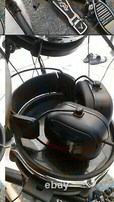 Alesis DM5 Electronic 5 piece drum Kit, 3 cymbals + Stool + Alesis Headphones