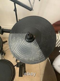 Alesis DM6 Electronic Drum Kit with Mapex Double Bass Pedal and Music Stand