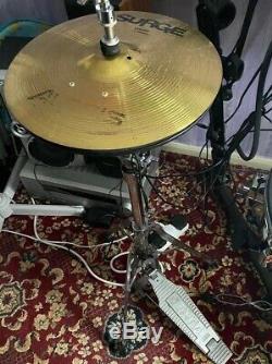 Alesis DM-10 Electronic Drum kit, Custom Setup With Surge Cymbals