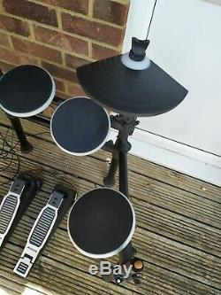 Alesis DM Lite Kit Electronic Drum Kit in good condition + Sticks
