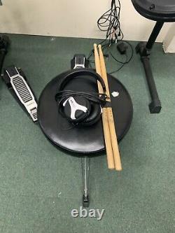 Alesis Dm6 Electric Electronic Digital Drum Kit Set Stool sticks And Headphones