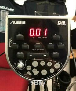 Alesis Dm6 Electric Electronic Digital Drum Kit Set With Sheet Music Stand