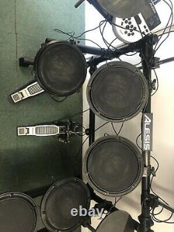 Alesis Dm7x Electric Electronic Digital Drum Kit Set With Extra Cymbal AND Tom