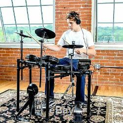 Alesis Drums Nitro Mesh Kit Eight Piece All Mesh Electronic Drum Kit With Supe