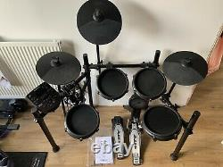 Alesis NItro Mesh Kit Electronic Drum Set With 8 Inch Snare Toms and 10 Cymbals