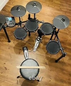 Alesis Nitro Mesh Eight Piece Electronic Drum Kit With Mesh Heads (with extras)