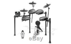 Alesis Nitro Mesh Eight-Piece Electronic Drum Kit with Mesh Heads