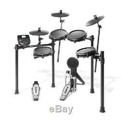 Alesis Nitro Mesh Kit Electronic Drum Kit with mesh heads, Stool, Headphones