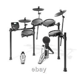Alesis Nitro Mesh Kit Electronic Drum Kit with mesh heads and Drum sticks