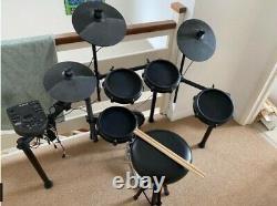 Alesis Nitro Mesh Kit USB MIDI Electronic Drum Kit with Drum Stool