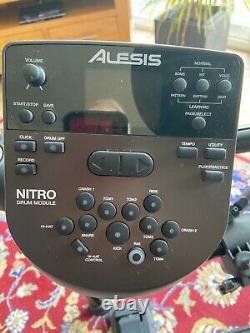 Alesis Nitro Mesh USB MIDI Electronic Drum Kit & Sticks