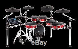 Alesis Strike Pro Kit Eleven-Piece Professional Electronic Drum Kit Mesh Heads