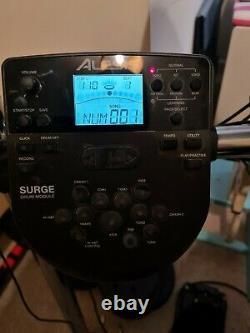 Alesis Surge Mesh Aluminium Electronic Drum Kit with stool