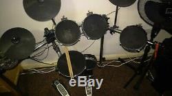 Alesis Surge Mesh Kit, Eight-Piece Electronic Drum Kit Drum sticks and stool