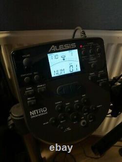 Alesis TURBOMESHKITXUS Turbo Mesh Electronic Drum Kit with Stool