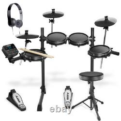 Alesis Turbo Mesh Kit 7 Piece Electronic Drum Kit With Stool and Headphones