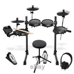 Alesis Turbo Mesh Kit Electronic Digital USB MIDI 7 Piece Drum Kit Set