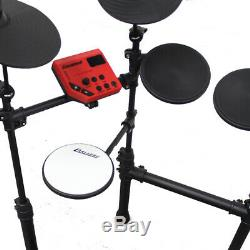 B-Stock Carlsbro CSD100 R-PLUS Electronic Drum Kit 7 Piece Digital Set Stool