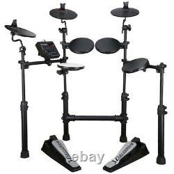 Carlsbro CSD100 Electronic Drum Kit Bundle with Stool & Headphones