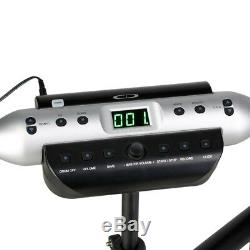 Carlsbro CSD120 Compact Electronic Drum Kit 5 Piece USB Digital Set Foldable B