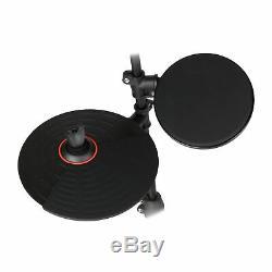 Carlsbro CSD130 Digital Electronic Silent Portable Drum Kit 8 Piece USB Midi Set