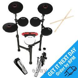 Carlsbro CSD130 R 8 Piece Electronic Drum Kit Set USB MIDI Digital Drum Machine