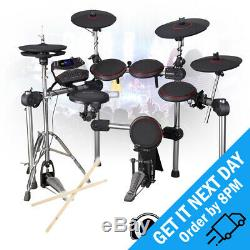 Carlsbro CSD310 Digital Electronic Silent Portable Drum Kit 9 Piece USB Midi Set