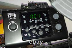 Complete Session Pro DD505 electronic drum kit. Ready to go with extras