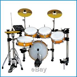 Digital Drums High Quality EDS-908-8ST180 Compact Electronic Drum Kit NEW ITEM