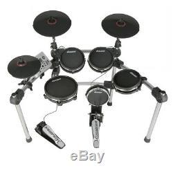 Digital Electronic MESH Drum Kit USB MIDI Electric Pad Drums Set with Sticks