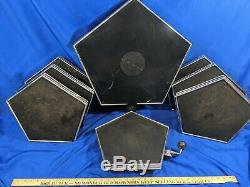 Dynacord 8 Piece RARE 80s Early Electronic Drum Set Kit Toms Bass VTG Pads Seven