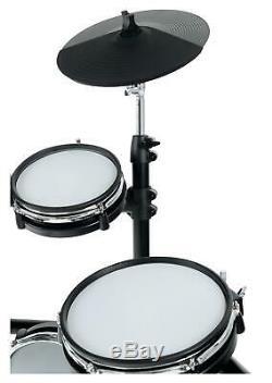 Electronic Drum E-Drum Kit Set 6 Mesh 4 Cymbals 2 Pedals Modul Set Stool Sticks