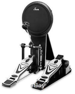 Electronic Drum Kit 5 Pads 4 Cymbals Pedal Stool Headphones Sticks Rack Set
