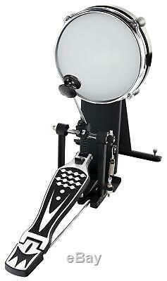 Electronic Drumset E-Drum Kit Module Mesh Heads USB Midi Headphones Stool