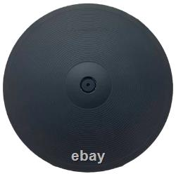 Electronic Ride Cymbal Lemon 18 3 Zone Chokeable Triple Trigger Drum Pad 45cm