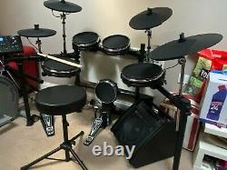 Gear4music WHD 650-DX Electronic Drum Kit with additional cymbal