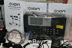 ION Audio 5-Piece Electronic Drum Kit Set + Headphones iED01