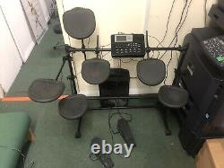 Ion Idm02 Electric Electronic Digital Drum Kit Set With Stool