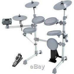 KAT Percussion KT1 5 Piece Electronic Drum Set Mega Bundle Kit