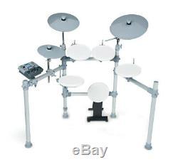 Kat Kt2 5-piece Digital Electronic Drum Set Electric Kick Snare Crash Kit Kt2-us