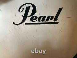 Pearl E pro Tru Trac 4pc Drum Set kit Green Glitter Pad Set with Electronic heads