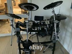 ROLAND TD12 V-DRUMS Electronic Drum Kit Pearl Kick pedal